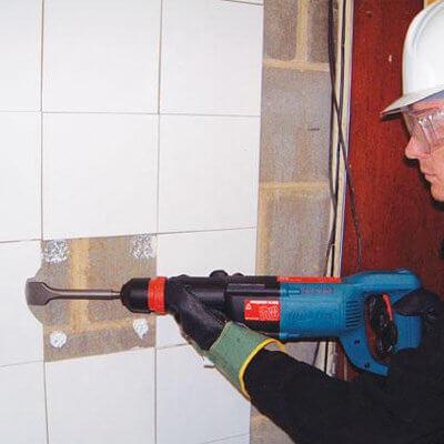 power scraper tile remover