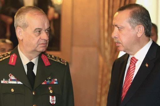 Former Chief of staff with Turkish PM Tayyip E.