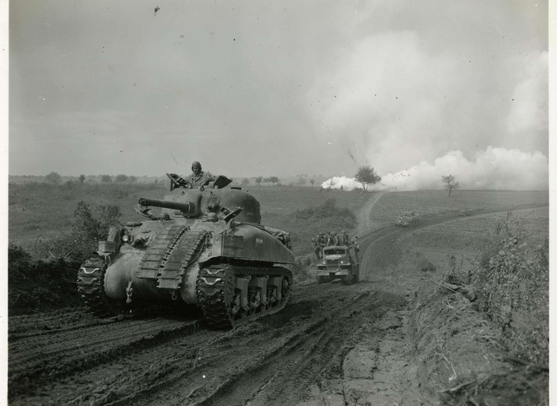 m4 sherman tank the