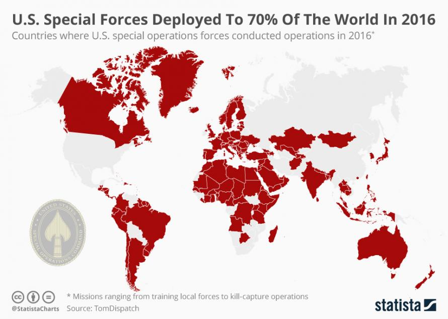 Commandos Sans Frontières: The Global Growth Of U.S. Special Operations Forces
