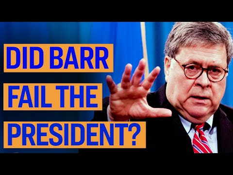 Did Bill Barr Fail the President? | Declassified | Gina Shakespeare