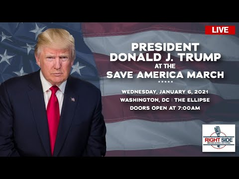 Watch LIVE: Massive Trump Rally in DC 1/6/21