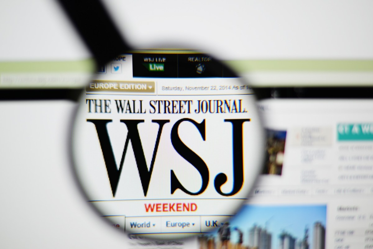 A Rookie Error at the Wall Street Journal