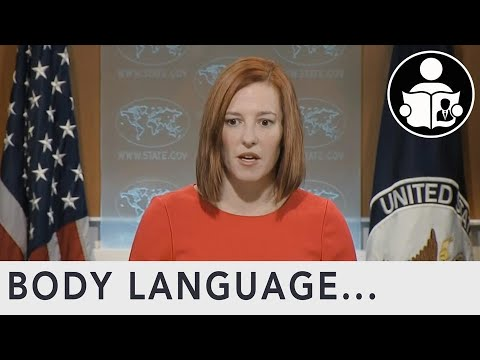 Body Language: Psaki Hot Mic Egypt Statement