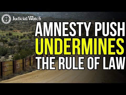 """Just Say NO to Biden's """"Dangerous & Illegal"""" Amnesty Push!"""