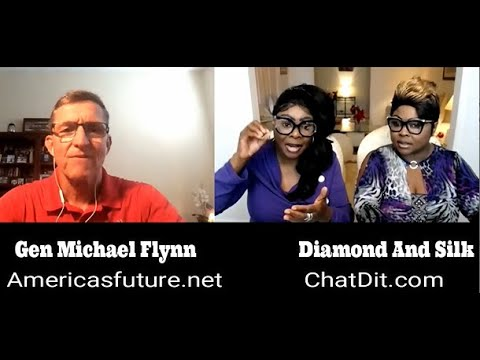 Diamond and Silk talked to the General