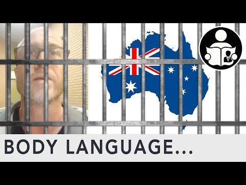 Body Language: Aussie in Thought Crime Prison