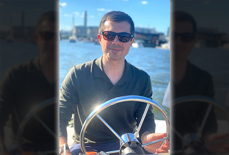 ALERT: Pete Buttigieg Has Been on Secret Paid Leave Since August as Infrastructure Bill Fizzles, Supply Chain Crisis Escalates