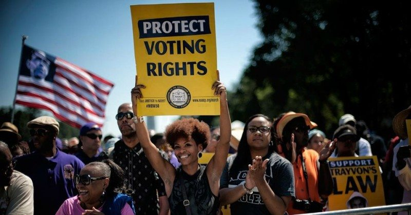 Voter suppression is an attack on democracy—and my faith