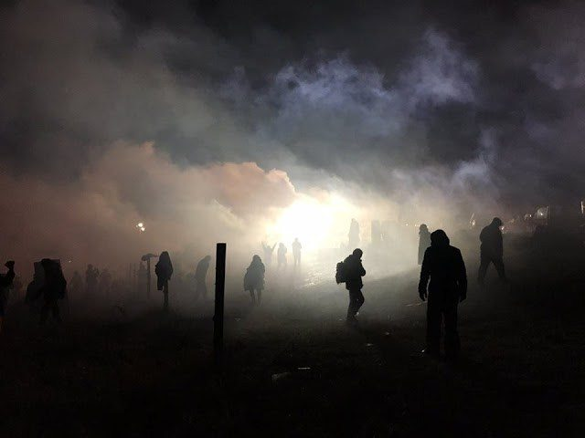 Media silence after water protectors and police clash on MLK Day - NationofChange