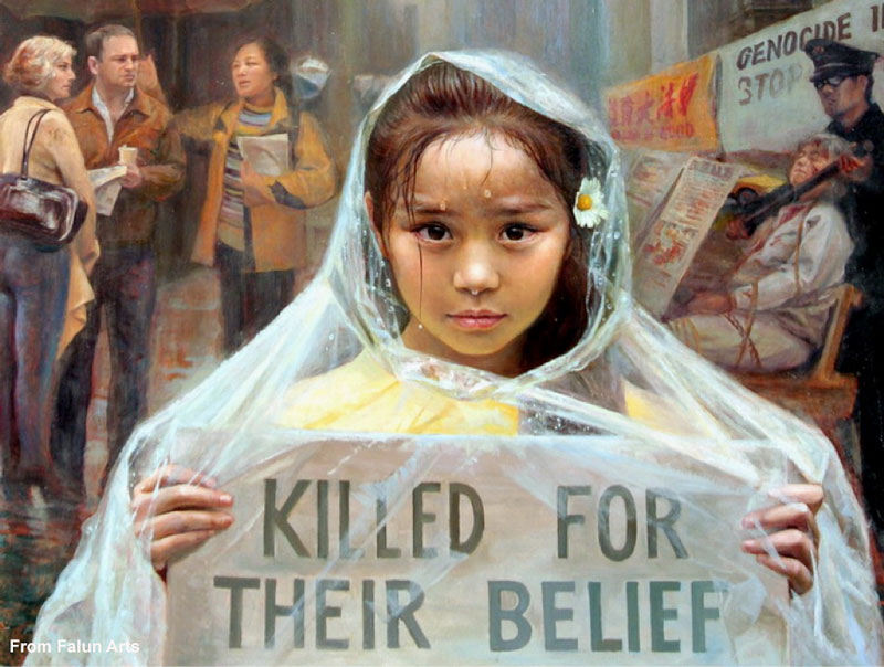 China's forced organ harvesting at a massive scale makes it