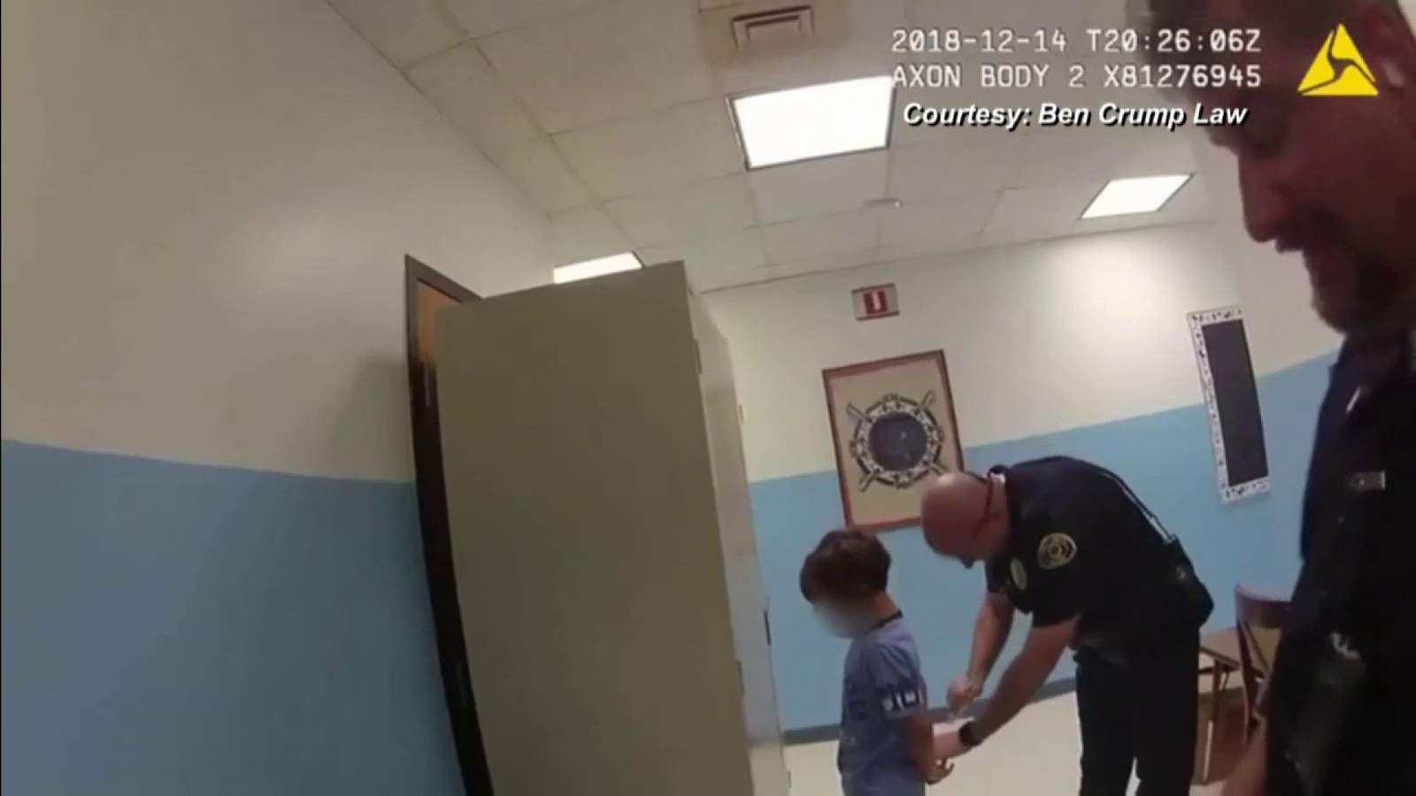 Lawsuit filed after police handcuff 8-year-old boy on video