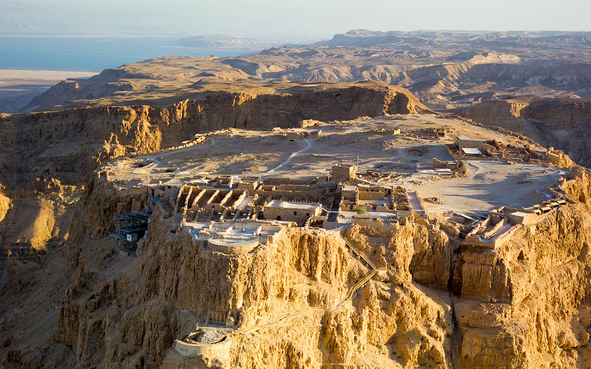 Masada in the Judaean Desert