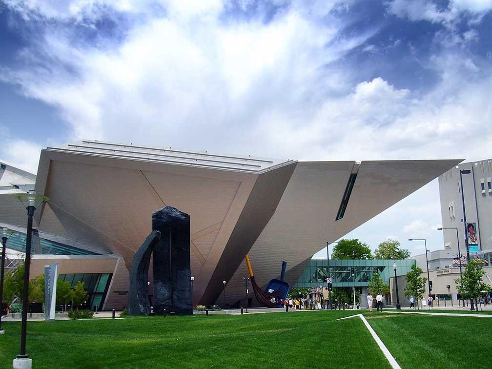 Google Map of Denver Colorado USA  Nations Online Project