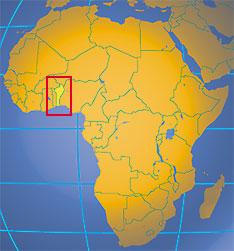 Benin in West Africa