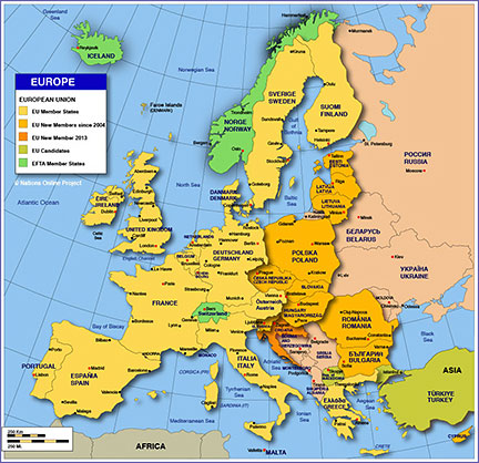 europe european countries nations