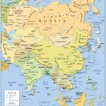 Political Map Of Asia Nations Online Project