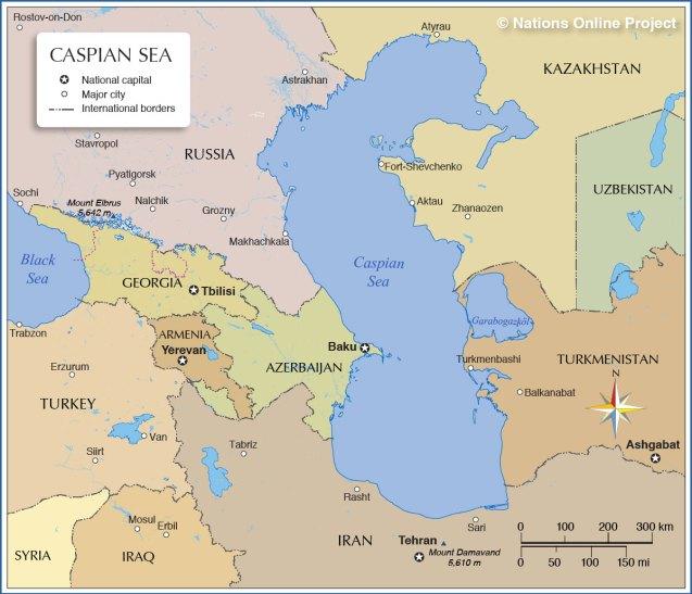 Caspian Sea breakthrough treaty set to boost oil, pipeline plans – Civilsdaily