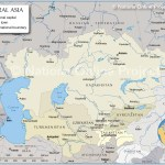 Map Of Central Asia And Caucasus Region Nations Online Project