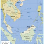 Political Map Of The South China Sea Nations Online Project