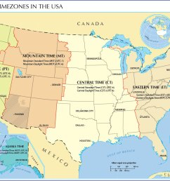 Us Time Zones Worksheet   Printable Worksheets and Activities for Teachers [ 873 x 1200 Pixel ]