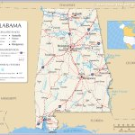 Map Of Alabama State Usa Nations Online Project
