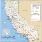 Map Of California State Usa Nations Online Project