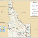 Map Of Idaho State Usa Nations Online Project