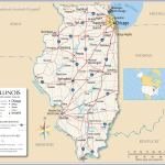 Map Of The State Of Illinois Usa Nations Online Project