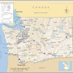 Map Of Washington State Usa Nations Online Project