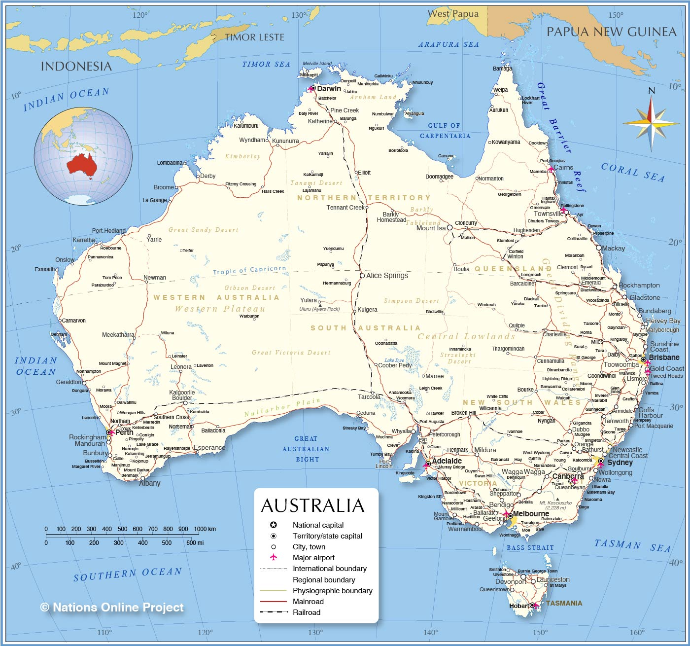 Map Of East Coast Australia Afp Cv