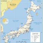 Political Map Of Japan Nations Online Project