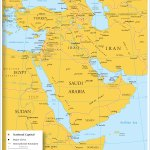 Map Of Countries In Western Asia And The Middle East Nations Online Project