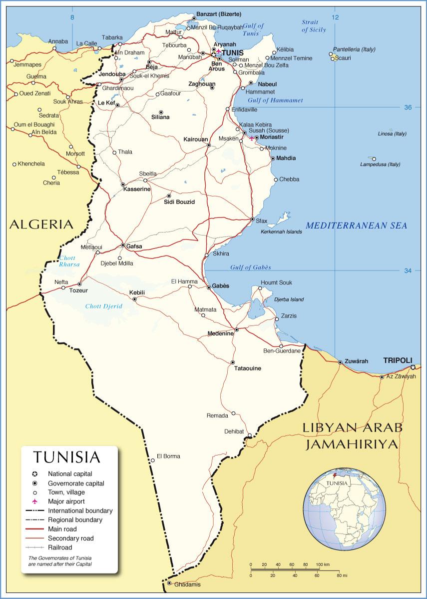 Tunisia Arab Spring