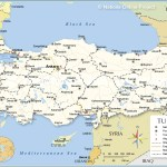 Political Map Of Turkey Nations Online Project