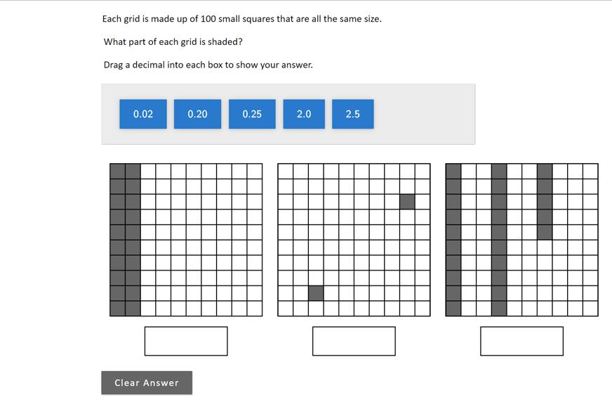 NAEP Mathematics: Sample Questions