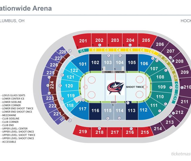 Hockey Seating Map Jpg