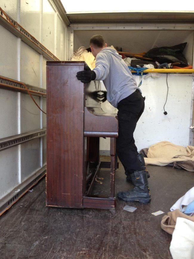 Newcastle Piano Removal