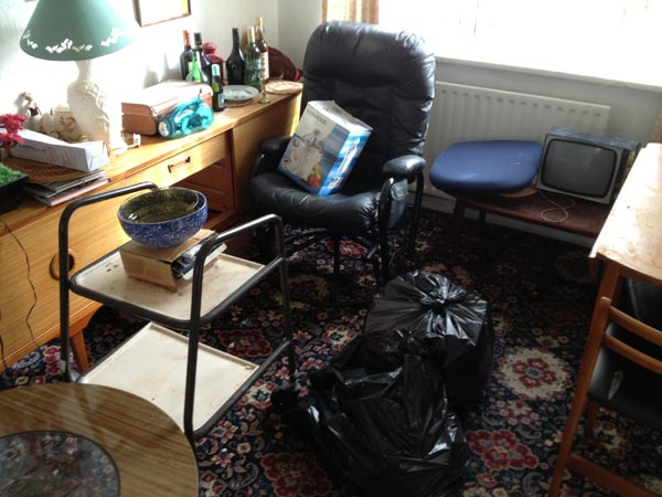 Cluttered House Clearance Wigan