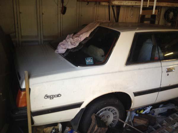 House Clearance Classic Car Barn Find Mitsubishi Sapporo