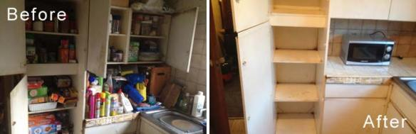 Hoarders House Clearance Declutter & Clean Before & After Photos