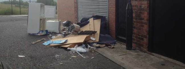 Say No To Fly Tipping