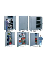 ALL-WELDED HEAVY-DUTY STORAGE CABINETS at Nationwide ...