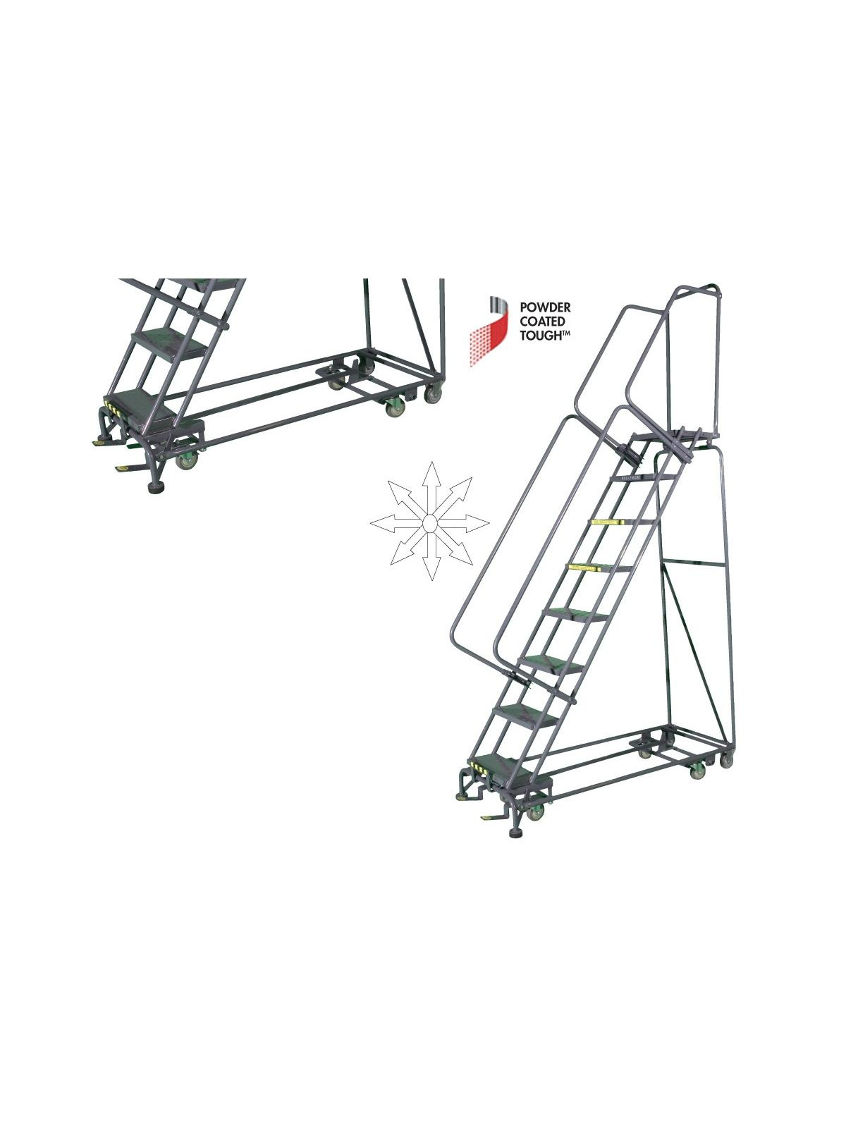 Pivoting All Direction Ladders At Nationwide Industrial