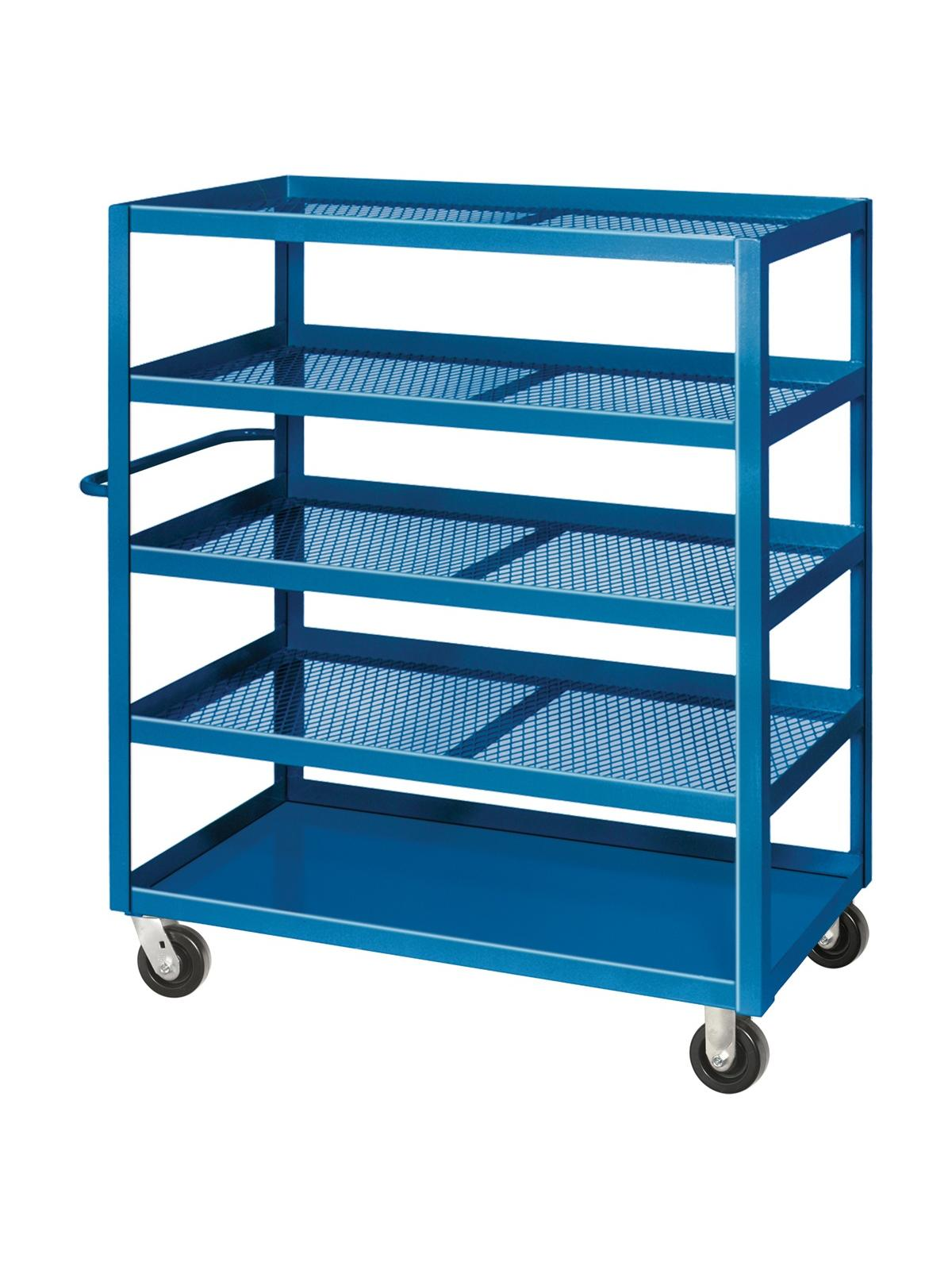 Expanded Metal Stock Cart At Nationwide Industrial Supply Llc