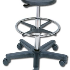 Stool Chair On Wheels Leather Recliner Swivel With Matching Footstool Chairs And Stools Nationwide Industrial Supply Lab Pneumatic Lift Foot Ring Casters