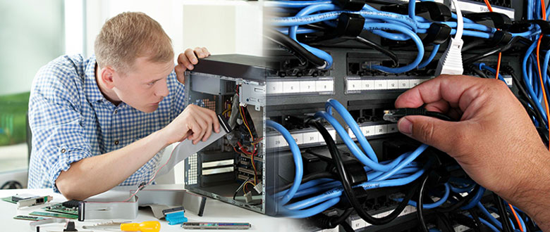 Yorkville Illinois On Site Computer PC & Printer Repair, Network, Voice & Data Inside Wiring Solutions
