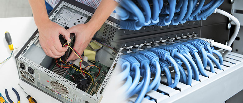 Crest Hill Illinois On Site Computer PC & Printer Repair, Network, Voice & Data Wiring Services