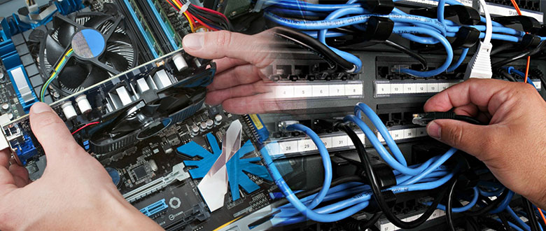 North Chicago Illinois On Site PC & Printer Repairs, Networks, Voice & Data Wiring Services