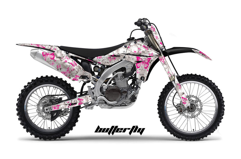 Yamaha YZ450 F 4 Stroke Dirt Bike GraphicsButterfly